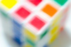 Kolorowy fo kubiczny zdjęcia stock