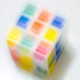 Kolorowy fo kubiczny zdjęcie royalty free