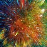Kolorowy galaxy chmurnieje i duża uderzenie abstrakta gwiazdy tekstura ilustracja wektor
