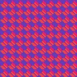 Kolorowy geometryczny płaski bezszwowy wzór ilustracji