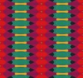 Kolorowy geometryczny pattern_12 Zdjęcie Royalty Free