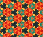 Kolorowy geometryczny pattern_6 Zdjęcia Royalty Free