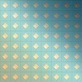 Kolorowy geometryczny tło z kwadratami Zdjęcie Stock