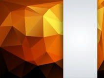 Kolorowy geometryczny tło Zdjęcia Royalty Free
