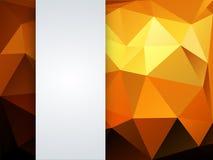 Kolorowy geometryczny tło Obraz Stock