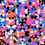 kolorowy geometryczny wzór Zdjęcia Royalty Free