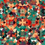 kolorowy geometryczny wzór Zdjęcia Stock