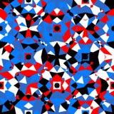 kolorowy geometryczny wzór Obraz Stock