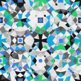 kolorowy geometryczny wzór Fotografia Royalty Free