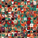 kolorowy geometryczny wzór Obrazy Stock