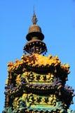 kolorowy glazerunku wieży Fotografia Royalty Free
