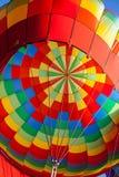 Kolorowy gorące powietrze balonu wnętrze Fotografia Stock