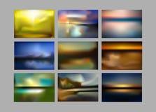 Kolorowy gradientowy siatki tło w jaskrawej tęczy barwi Abstrakt zamazujący gładki wizerunek Łatwa editable miękka część barwiąca Zdjęcie Stock