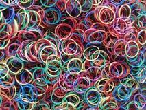 Kolorowy gumowy zespół Obrazy Royalty Free