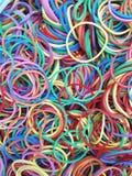 Kolorowy gumowy zespół Obraz Royalty Free