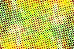 Kolorowy halftone kropki mody tło Obraz Royalty Free