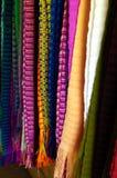 Kolorowy handmade tkaniny obwieszenie dla bubla Zdjęcie Stock