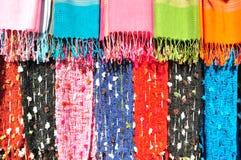 Kolorowy Handmade ubrania Karen plemię Fotografia Royalty Free
