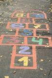 kolorowy hopscotch Fotografia Stock