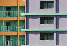 kolorowy hotel Zdjęcie Royalty Free