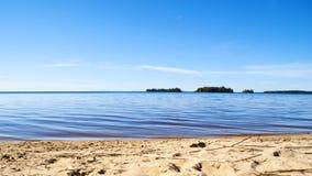 Kolorowy idylliczny woda krajobraz obrazy stock