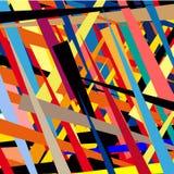 Kolorowy ilustrował abstrakcję Zdjęcia Stock