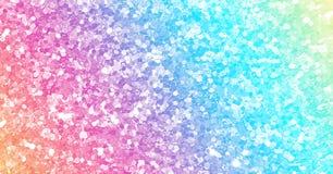 Kolorowy iskrzasty cekinu tło ilustracja wektor
