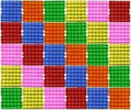 Kolorowy jajko panel Zdjęcia Stock