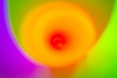 Kolorowy Kółkowy Vortex Zdjęcie Royalty Free
