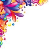 kolorowy kąt ilustracja wektor