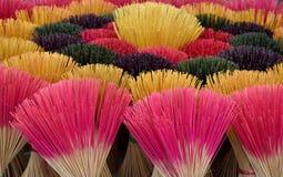 Kolorowy kadzidła zdjęcie fotografia royalty free