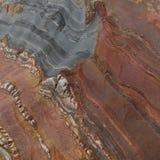 Kolorowy kamień z diagonalnymi fala obrazy royalty free
