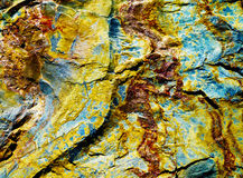 kolorowy kamień Zdjęcia Stock