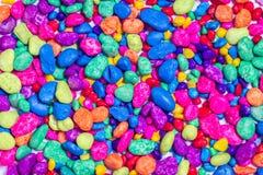 Kolorowy kamienia wzoru tło obraz royalty free