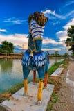 Kolorowy koń Fotografia Royalty Free
