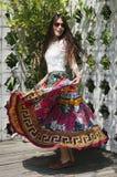Kolorowy kołysanie Obrazy Royalty Free