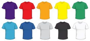 Kolorowy koszulka szablon