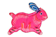 Kolorowy królika projekta lampion Zdjęcie Royalty Free