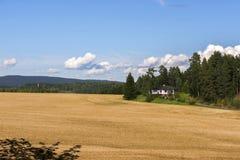 Kolorowy krajobraz w Norwegia Obraz Stock