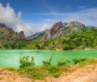 kolorowy krajobrazowy lato Obraz Royalty Free