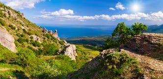 kolorowy krajobrazowy lato Obrazy Stock