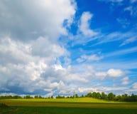kolorowy krajobrazowy lato Zdjęcia Stock