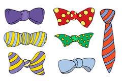 Kolorowy krawat Fotografia Stock