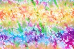 Kolorowy krawata barwidła wzoru abstrakta tło obraz stock