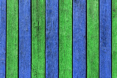 Kolorowy Kreatywnie Drewniany tło Fotografia Royalty Free