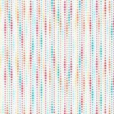 Kolorowy kropka wzoru tło Zdjęcie Stock