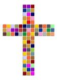 kolorowy krzyż ilustracji