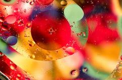 Kolorowy kurenda wzór obrazy stock