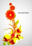 Kolorowy kwiat Obraz Royalty Free