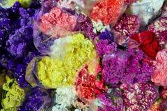 Kolorowy kwiat wiązki bukietów wzór Zdjęcia Royalty Free